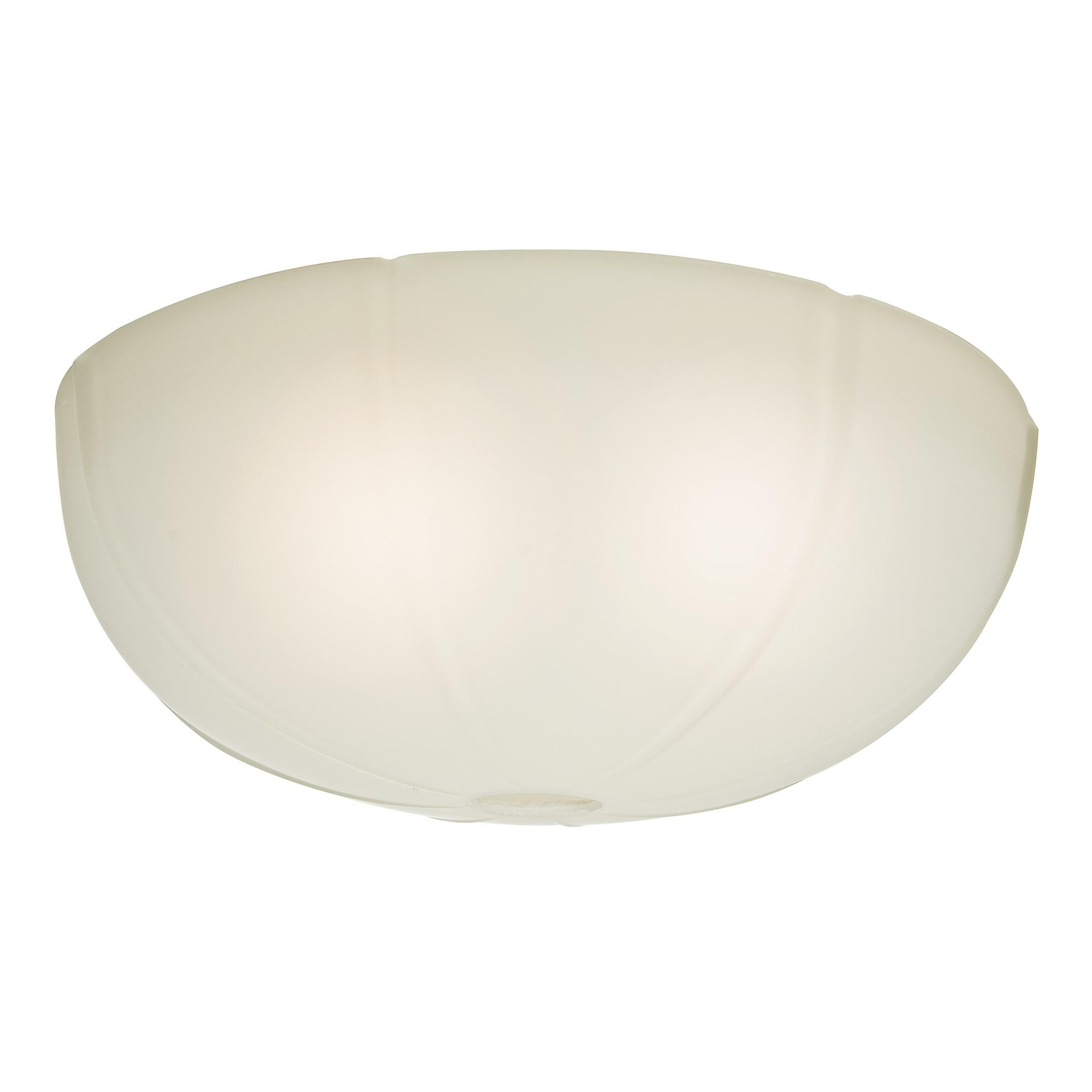 Cased White Glass Bowl