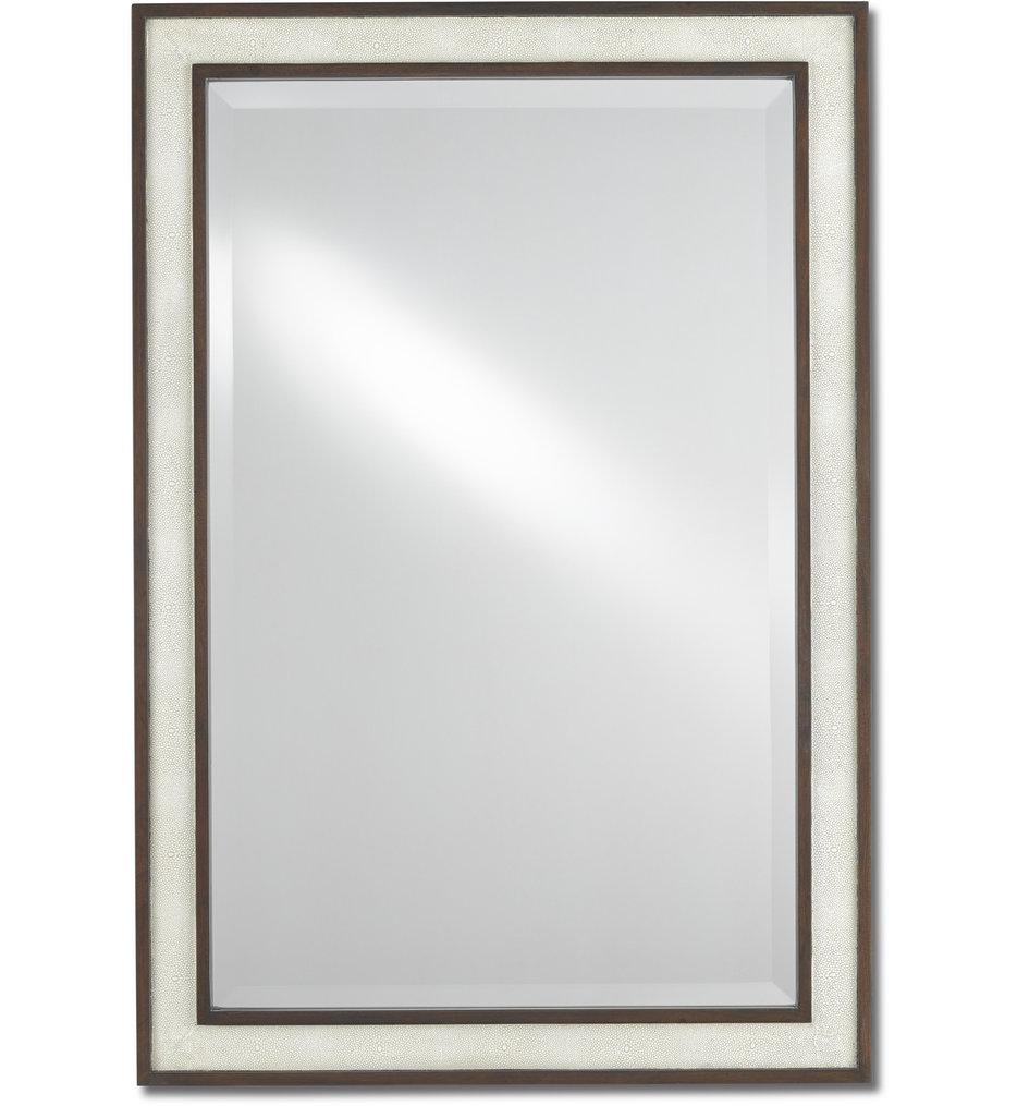 Evie Shagreen Mirror