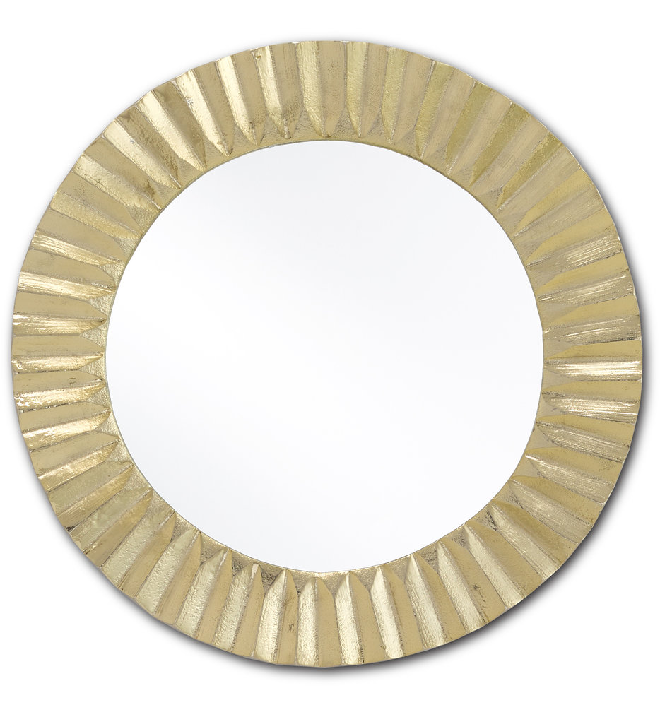 Carla Gold Small Mirror
