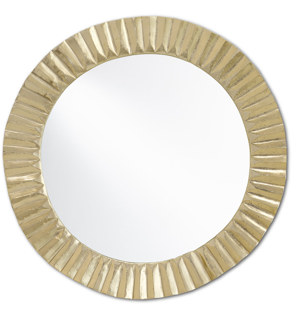 Carla Gold Large Mirror