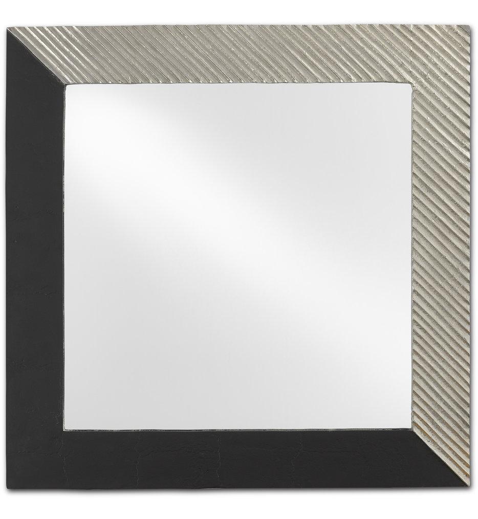 Calum Silver Square Mirror