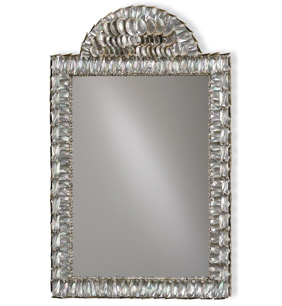 "Abalone 34"" Mirror"