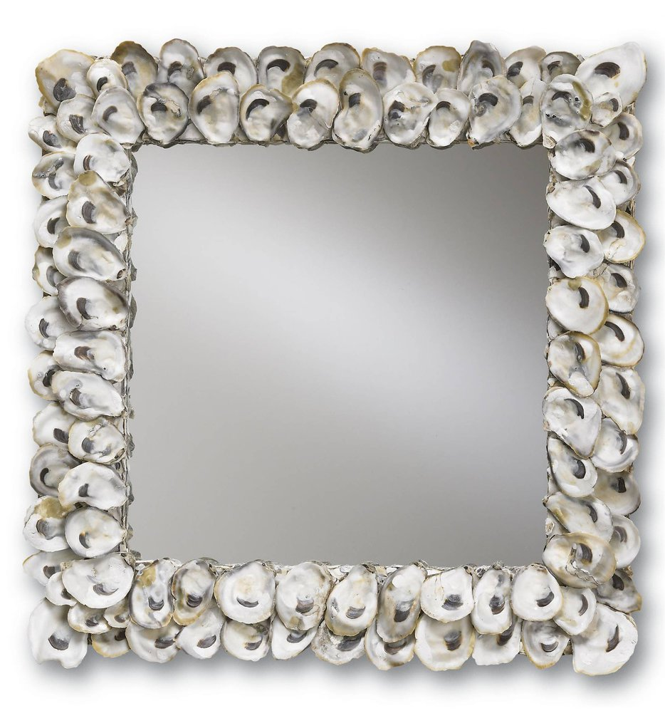 "Oyster Shell 20"" Mirror"