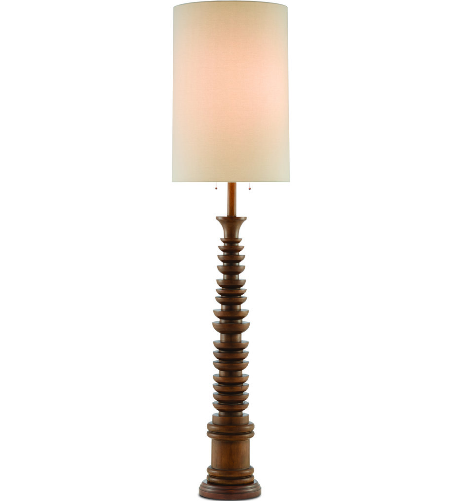 "Malayan 80"" Floor Lamp"