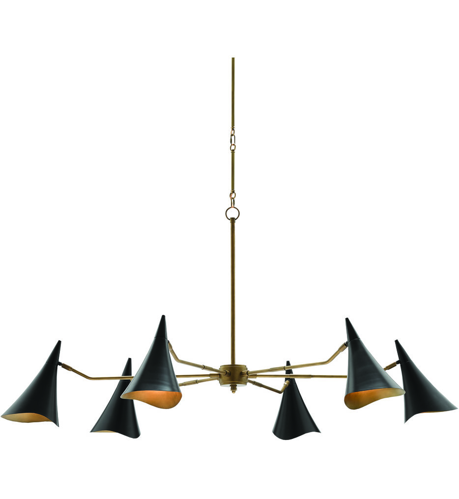 """Library 62"""" Chandelier"""