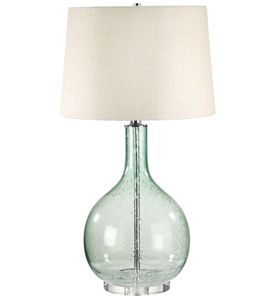 """Glass 28"""" Table Lamp"""