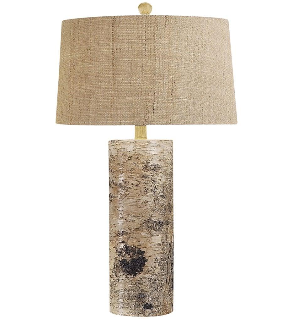"Aspen Bark 30"" Table Lamp"