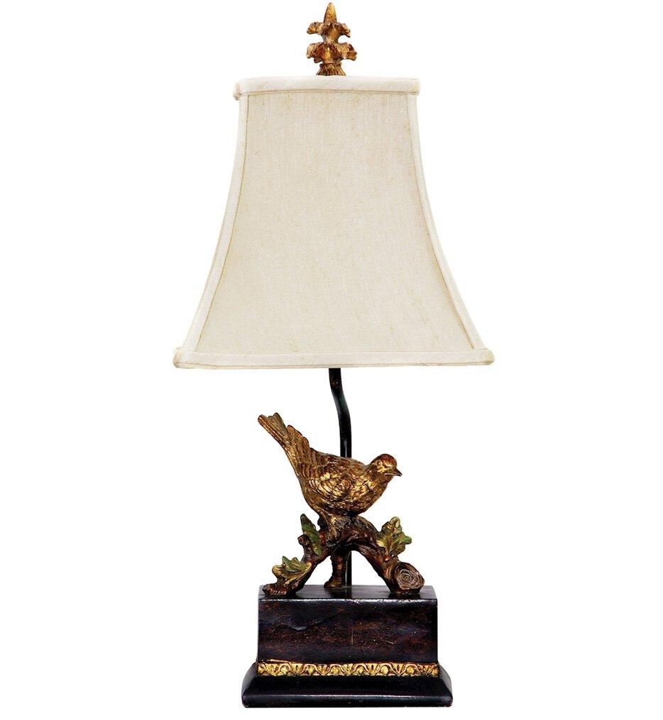 "Perching Robin 21"" Table Lamp"