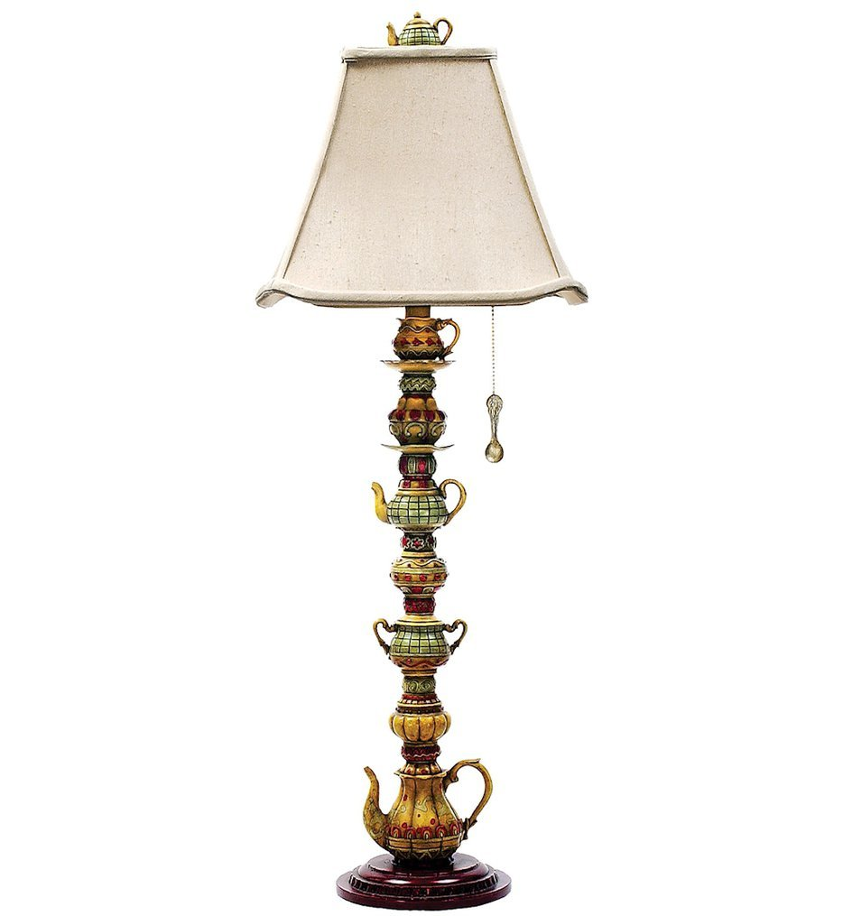 "Tea Service 35"" Table Lamp"