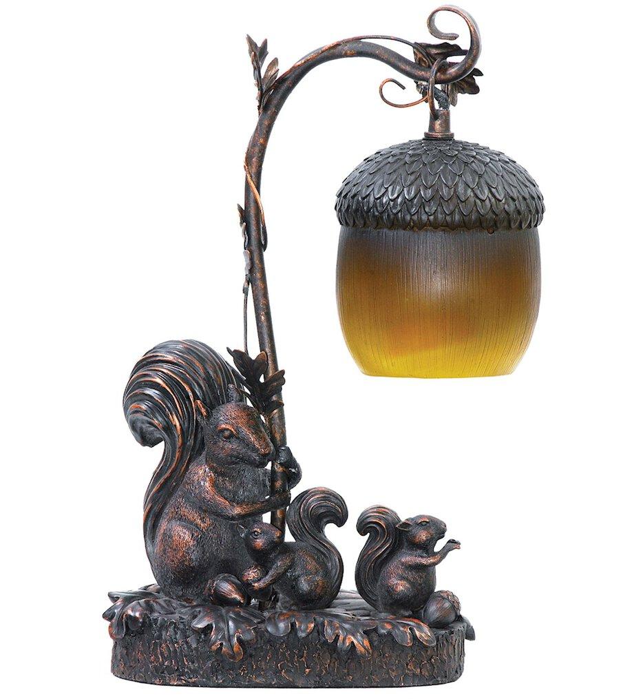 """Squirrel Acorn 14.5"""" Table Lamp"""