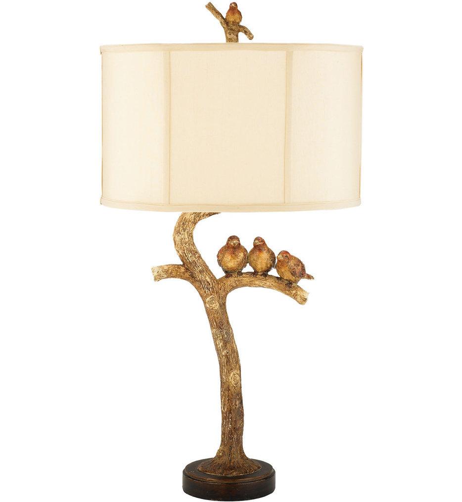 """Three Bird Light 31"""" Table Lamp"""