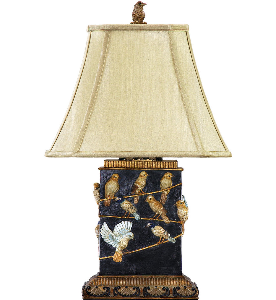 """Birds On A Branch 20"""" Table Lamp"""