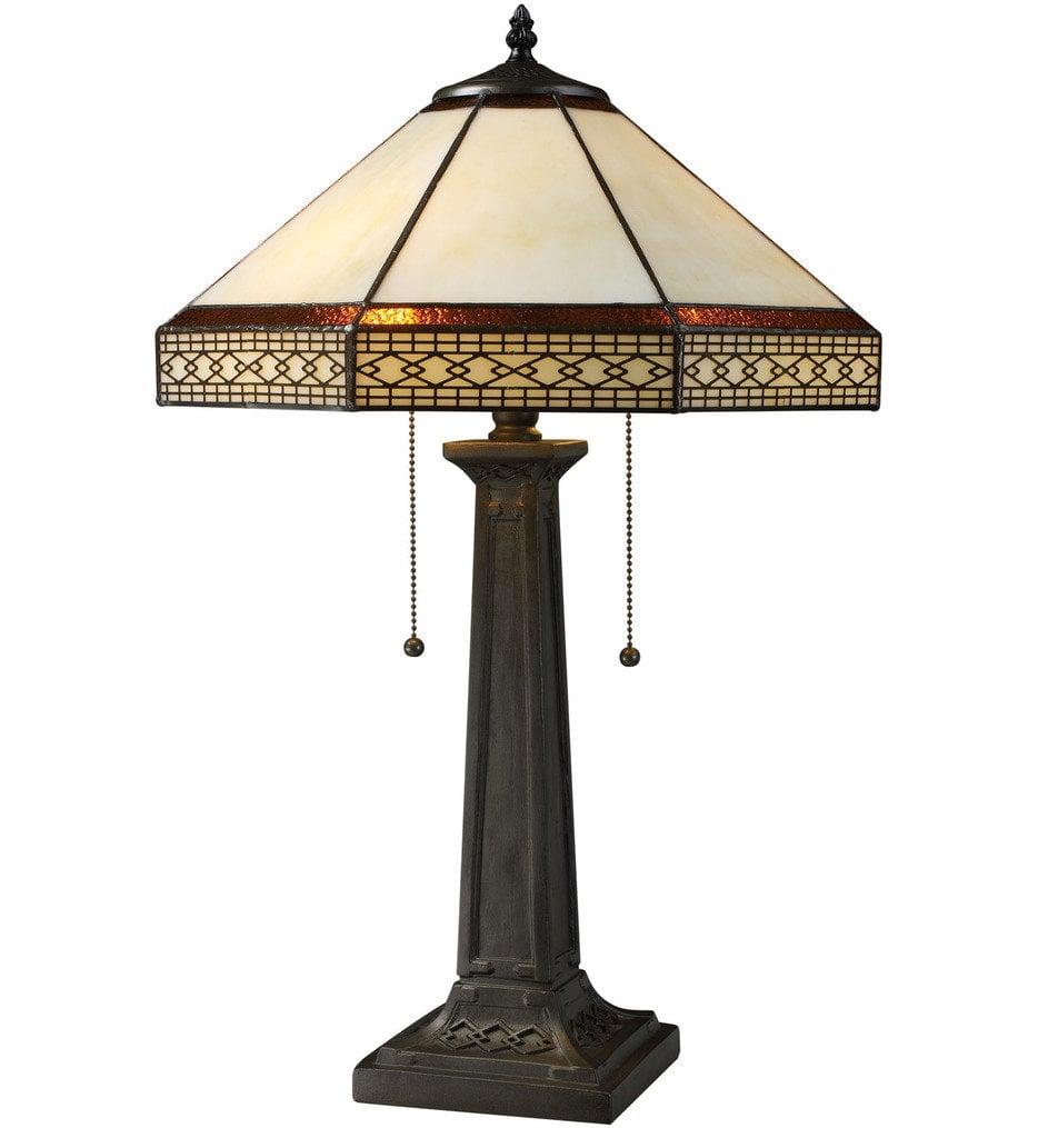 "Stone Filigree 24"" Table Lamp"