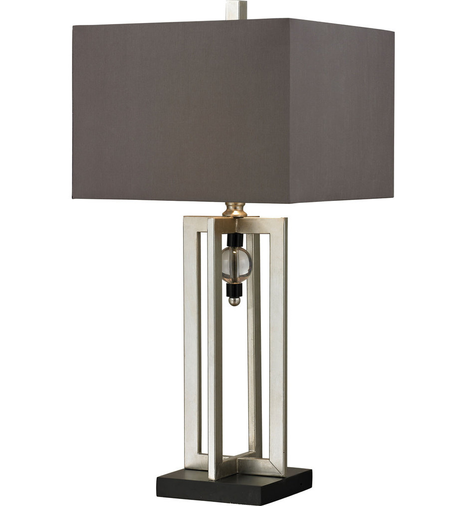 """Silver Leaf 30"""" Table Lamp"""