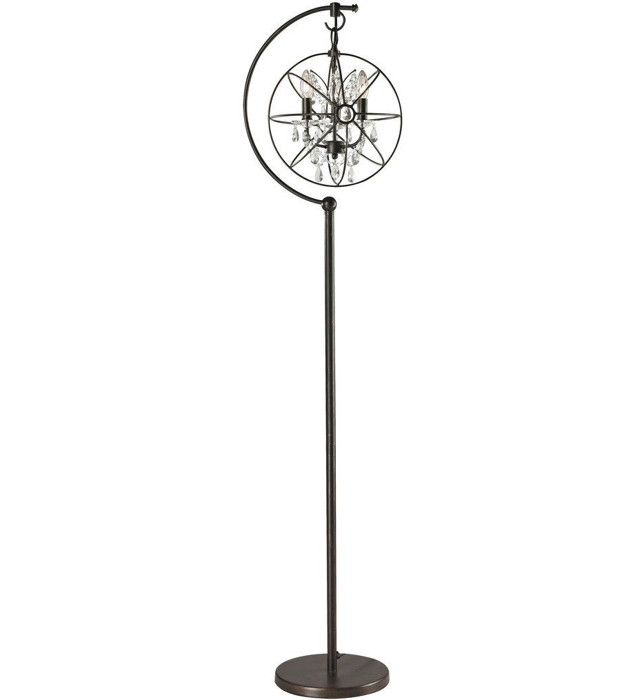 "Restoration Globe 69"" Floor Lamp"