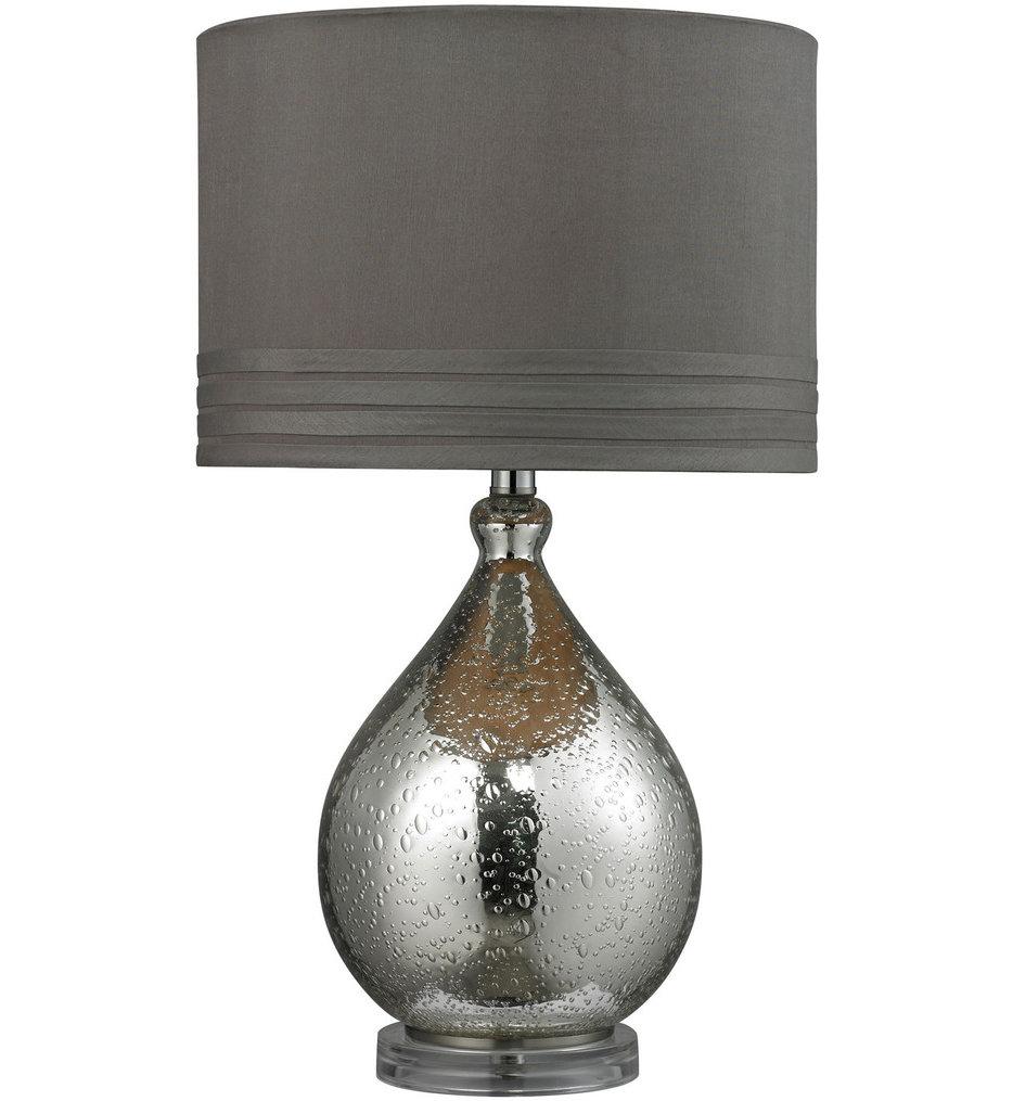 "Bubble Glass 24"" Table Lamp"