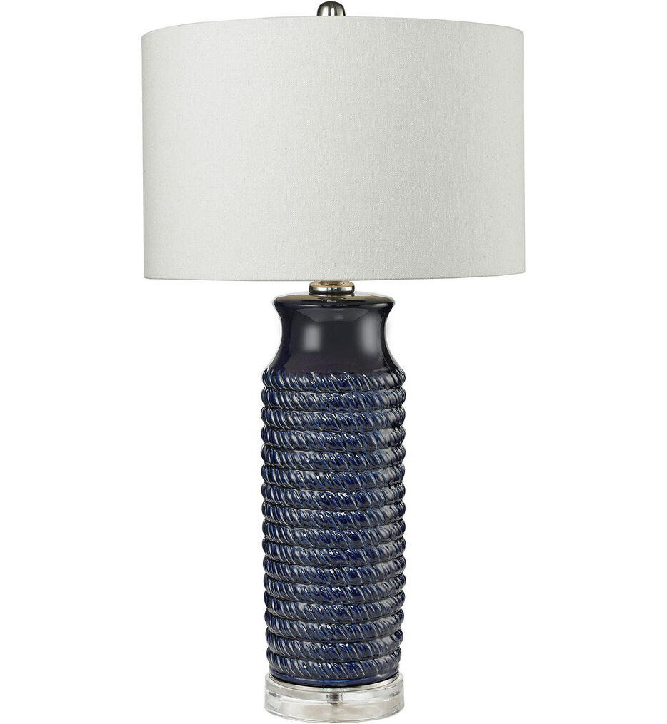 """Wrapped Rope 30"""" Table Lamp"""