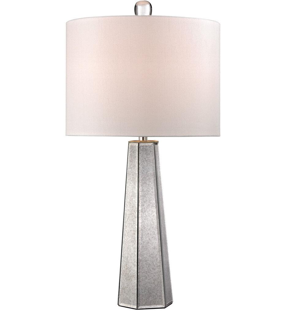 "Mercury Glass 29.25"" Table Lamp"