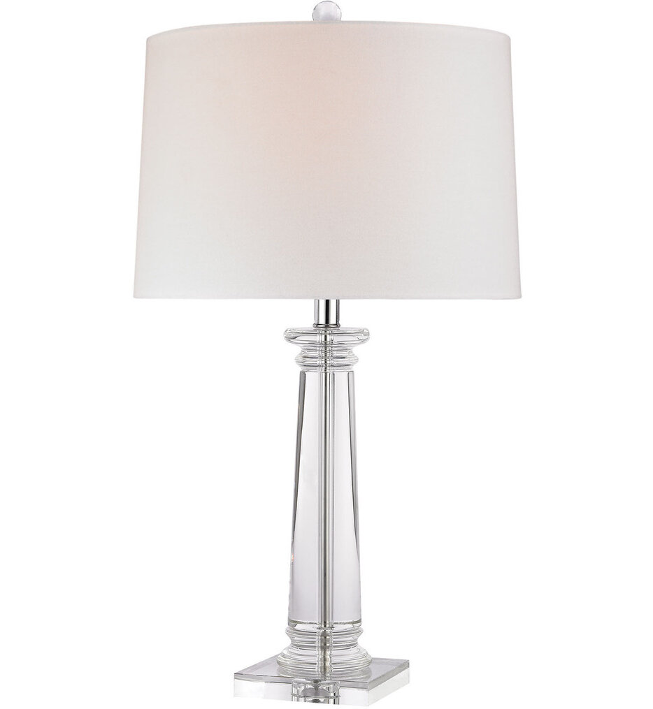 "Classical Column 27"" Table Lamp"