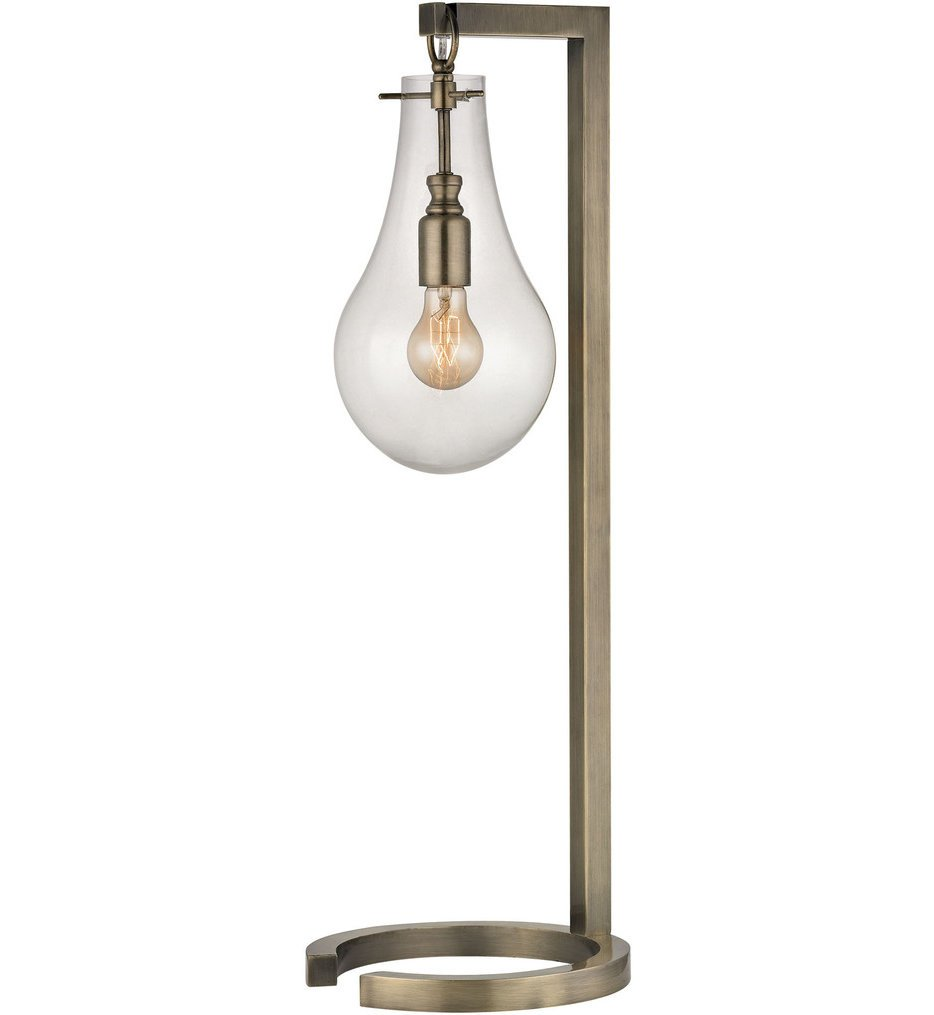 """Antique Brass 29"""" Table Lamp"""