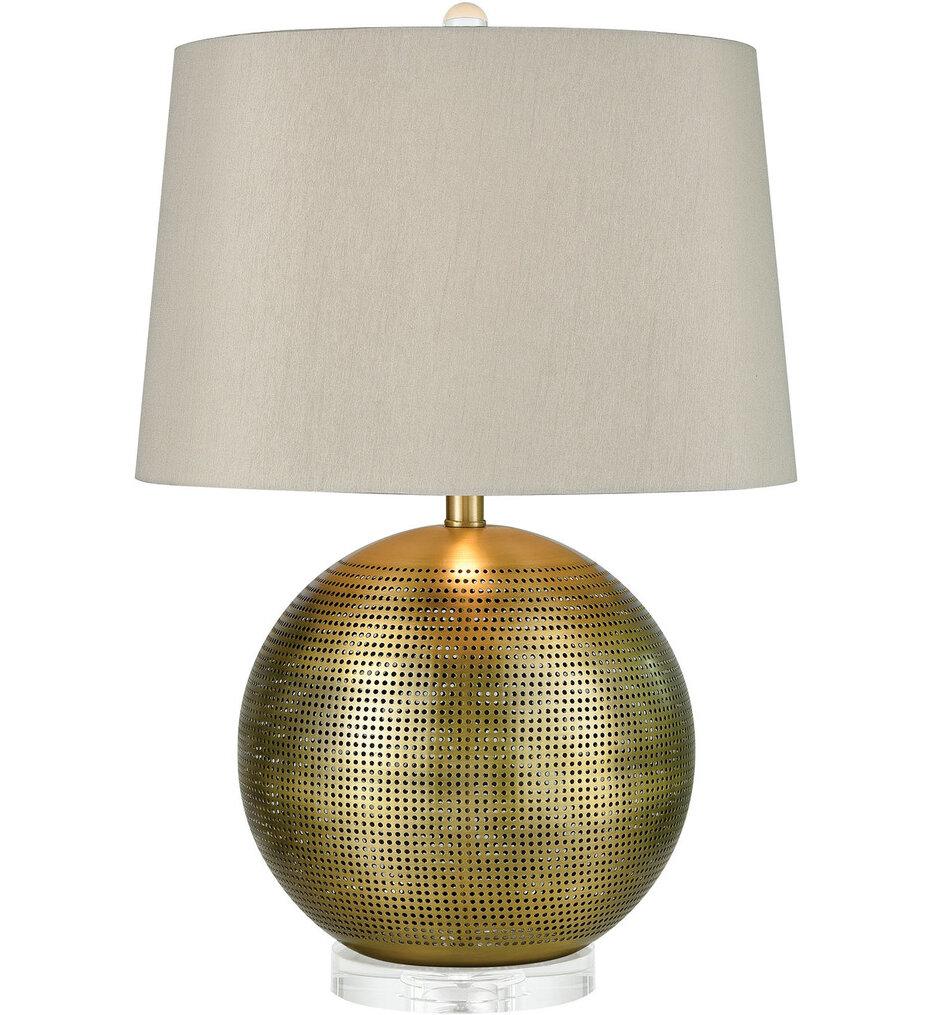 "Punkture 25"" Table Lamp"