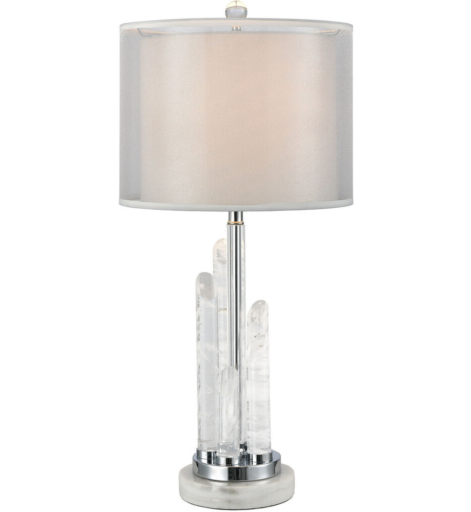 """Frostpoint 26"""" Table Lamp"""