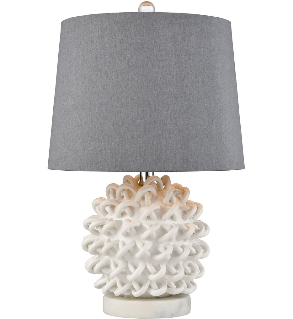 """Boucle 21"""" Table Lamp"""