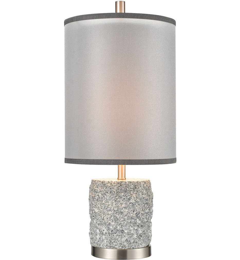 """Rock On 25"""" Table Lamp"""