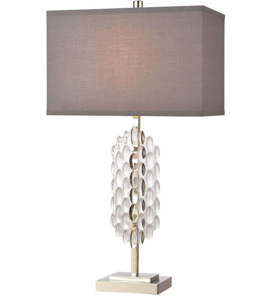 """Icy Reception 28.25"""" Table Lamp"""