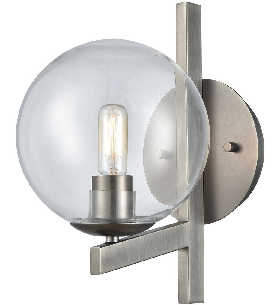 """Globes of Light 12"""" Wall Sconce"""