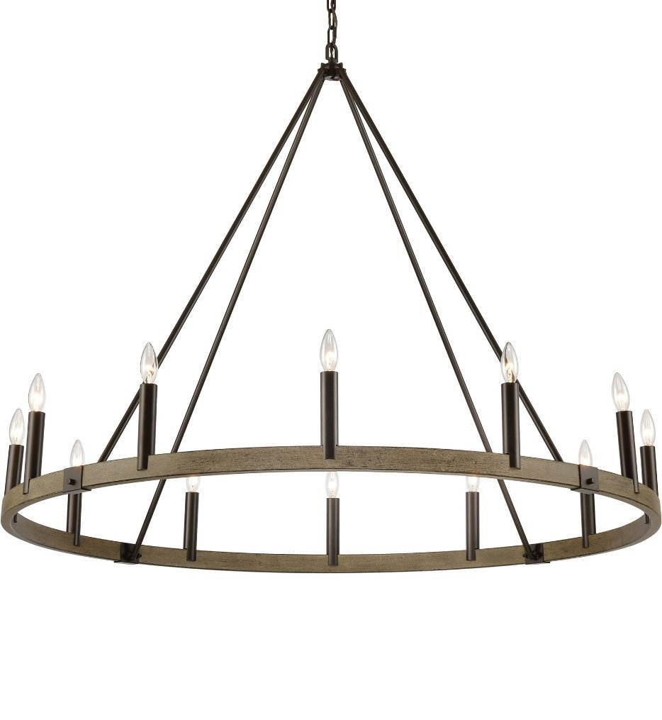 """Transitions 50"""" Chandelier"""