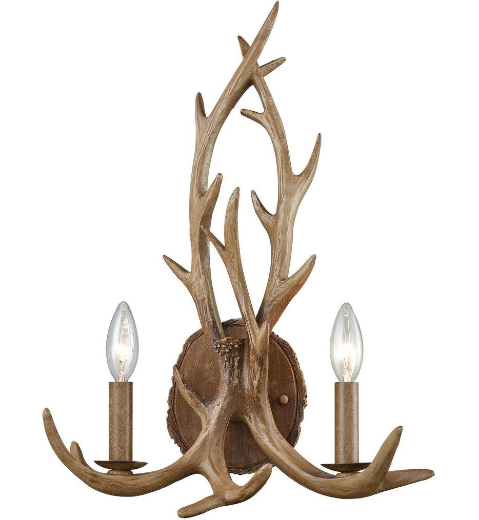 "Elk 19"" Wall Sconce"
