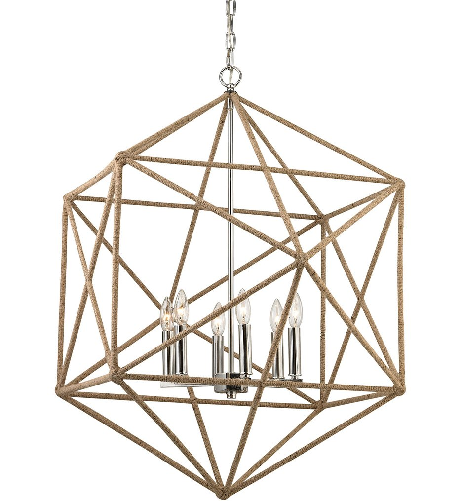 "Exitor 34"" Chandelier"