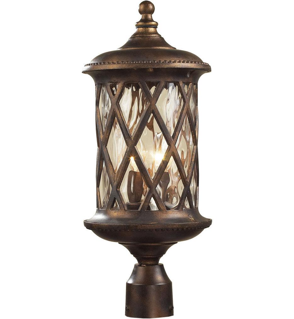 "Barrington Gate 9"" 2 Light Outdoor Post Light"