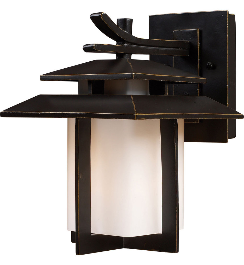 """Kanso 11"""" Outdoor Wall Sconce"""