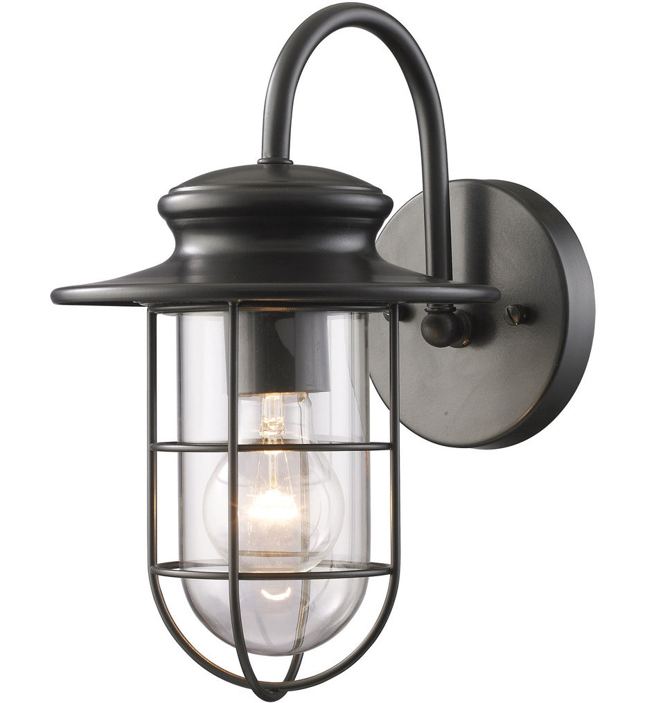 """Portside 12"""" Outdoor Wall Sconce"""