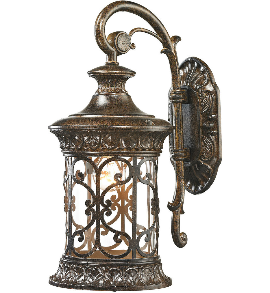 """Orlean 17"""" Outdoor Wall Sconce"""
