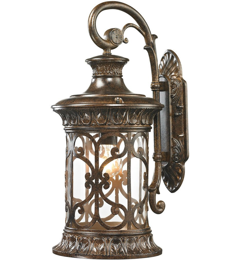 """Orlean 21"""" Outdoor Wall Sconce"""