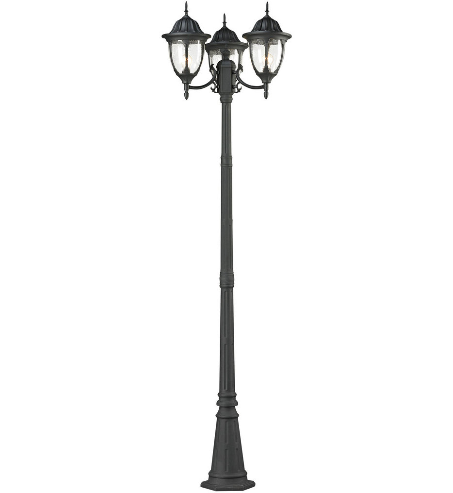 """Central Square 26"""" 3 Light Outdoor Post Light"""
