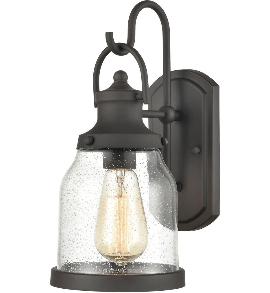 """Renford 14"""" Outdoor Wall Sconce"""