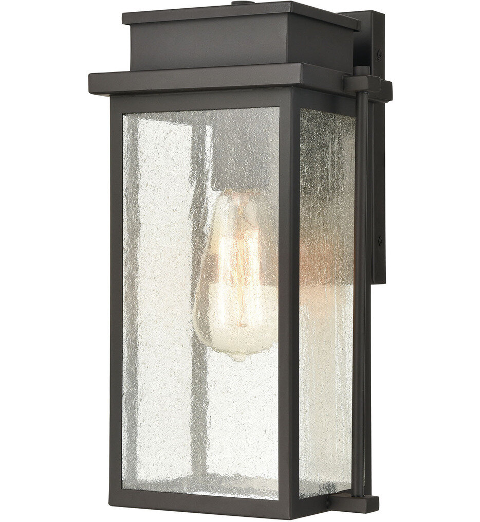 """Braddock 13"""" Outdoor Wall Sconce"""