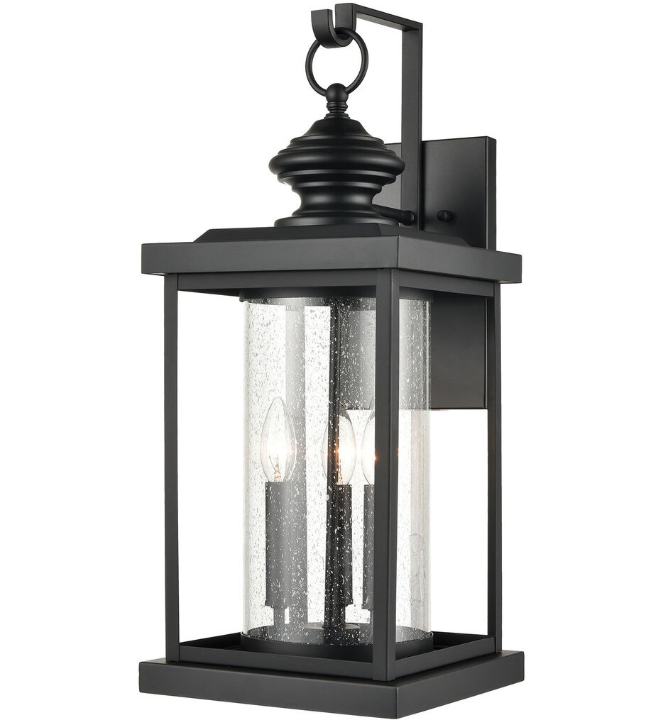 """Minersville 23"""" Outdoor Wall Sconce"""