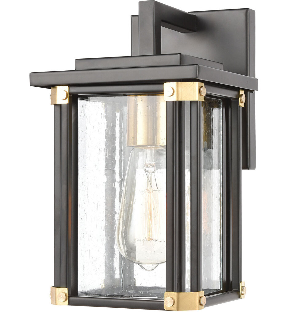"""Vincentown 11"""" Outdoor Wall Sconce"""