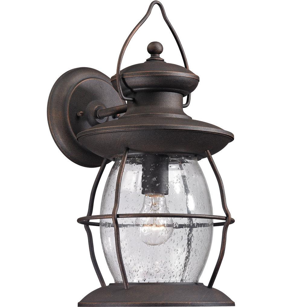 "Village Lantern 17"" Outdoor Wall Sconce"