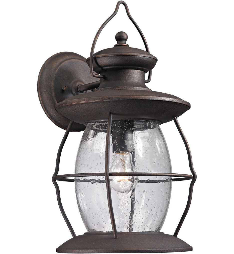 "Village Lantern 18"" Outdoor Wall Sconce"