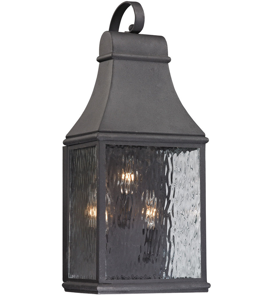 """Forged Jefferson 22"""" Outdoor Wall Sconce"""