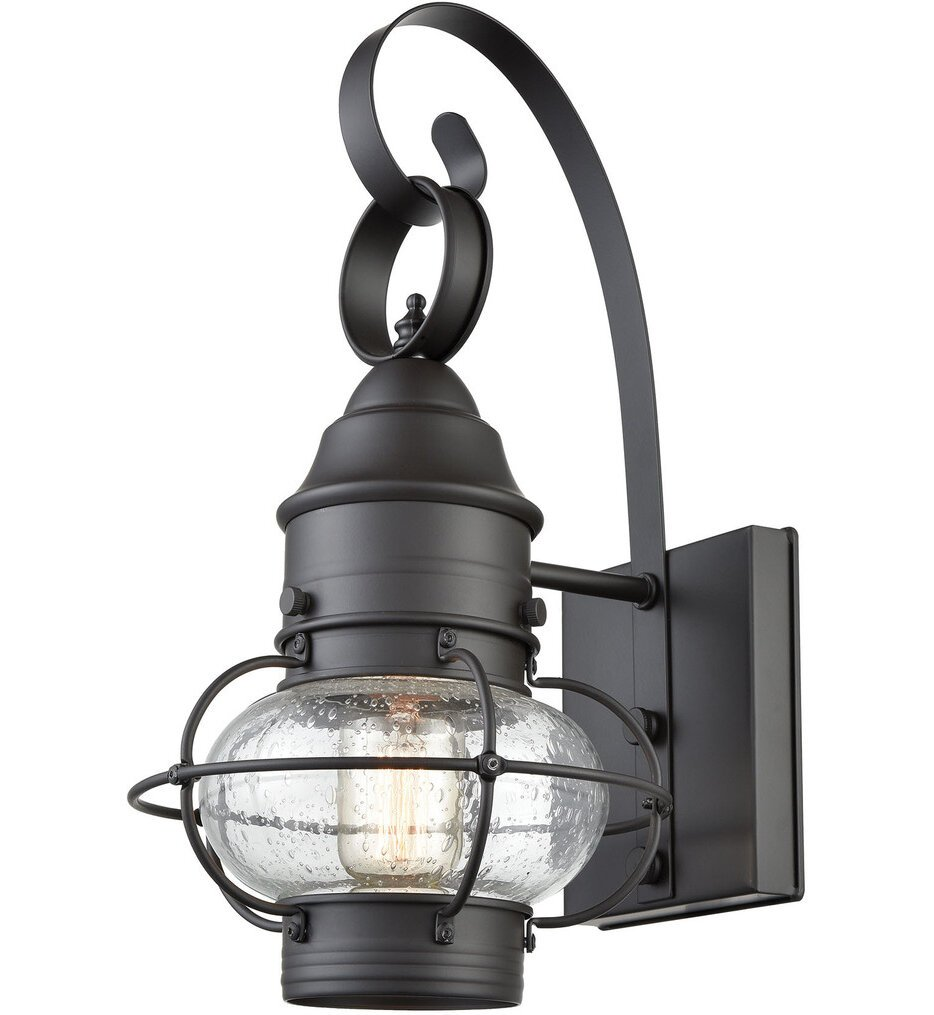 """Onion 15"""" Outdoor Wall Sconce"""