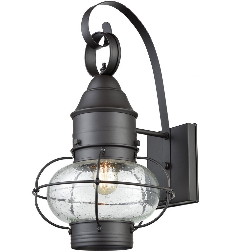 """Onion 18"""" Outdoor Wall Sconce"""