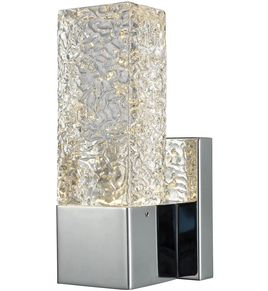 """Cubic Ice 8"""" Wall Sconce"""