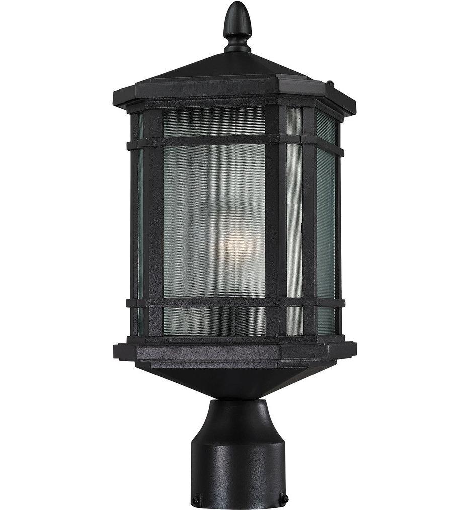 "Lowell 7"" 1 Light Outdoor Post Lantern"